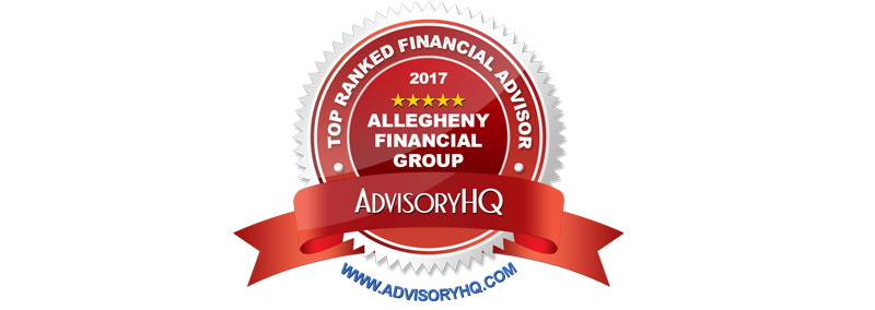 Allegheny Financial Group Top Ranked Financial Advisor emblem