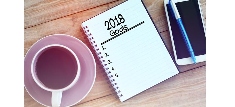 2018 financial goals