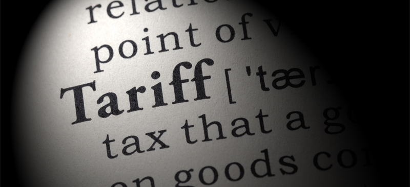 tariff definition