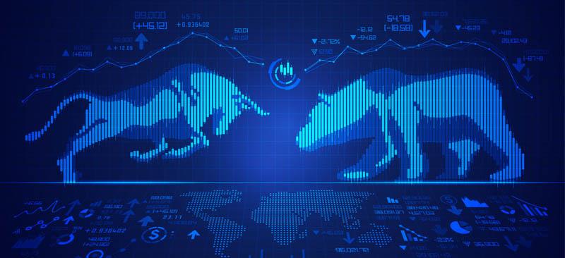 Bull versus Bear in Stock Market