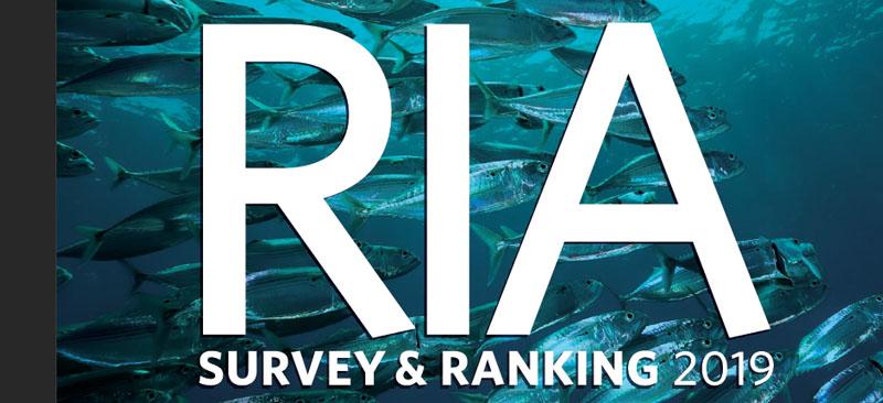Financial Advisor Magazine 2019 RIA Survey and Ranking