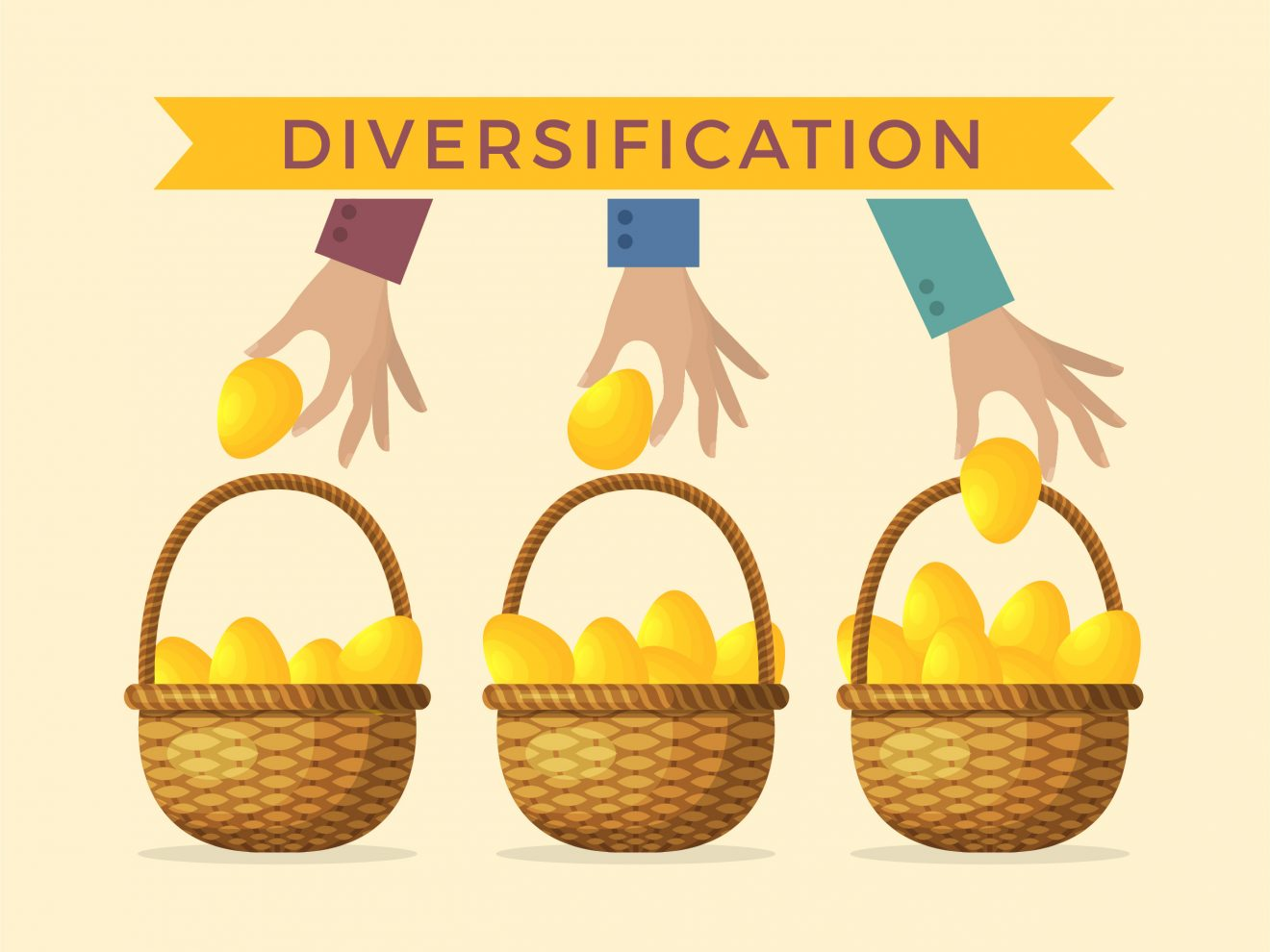 diversify assets to reduce risk